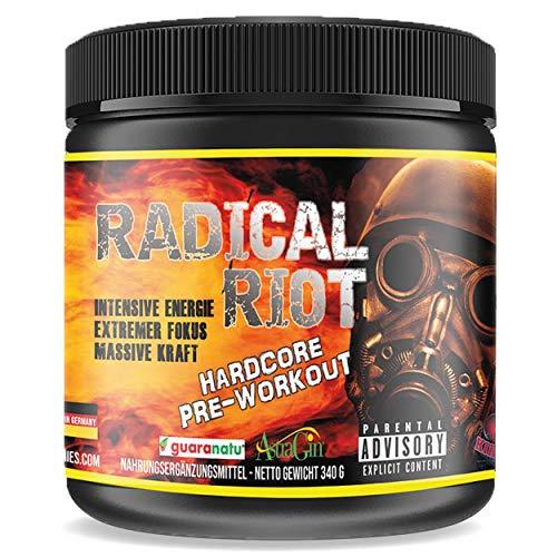 Pre Workout Booster Radical Riot V3-340 g I...