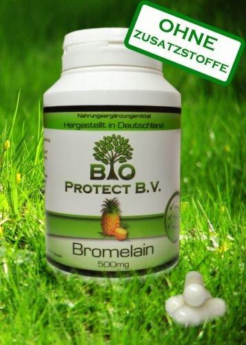 Bromelain 500 mg (2.000 F.I.P.) 120 Kapseln -...