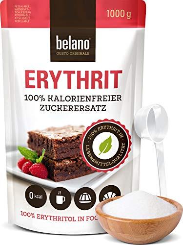 Erythrit 100% Erythritol reiner Zuckerersatz 1kg -...