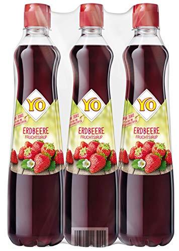 YO Sirup Erdbeere (6 x 700 ml) – 1x Flasche...