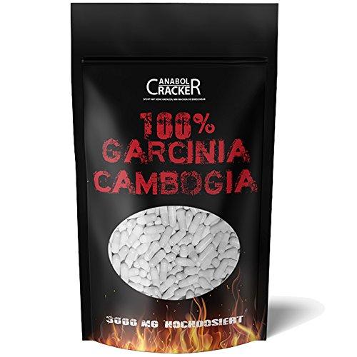 500 Kapseln - Garcinia Cambogia Extrakt, 3000mg...