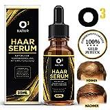 O³ Haarwachstum serum // Haarwuchsmittel für Frauen und Männer // Hair Growth Oil // Serum gegen Haarausfall – gibt Kraft und Elastizität