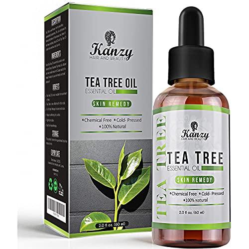 Kanzy Teebaumöl Bio Naturrein 60ml mit Pipette...