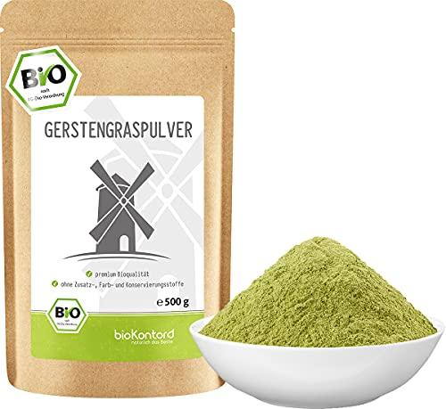 BIO Gerstengraspulver 500g | Gerstengras gemahlen...