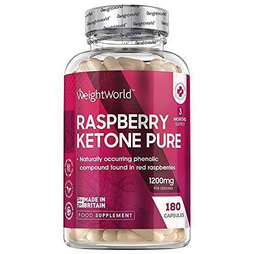 Raspberry Ketone Pure - 1200mg pures Himbeer Keton...