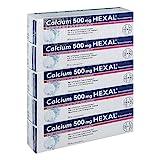 Calcium 500 mg HEXAL Brausetabletten, 100 St. Tabletten