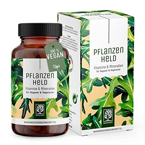 PFLANZENHELD Vegan Multivitamin Kapseln -...