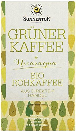 Sonnentor Grüner Kaffee bio, Doppelkammerbeutel,...