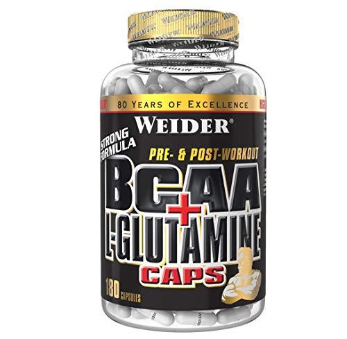 WEIDER BCAA + Glutamin Aminosäuren für Fitness,...