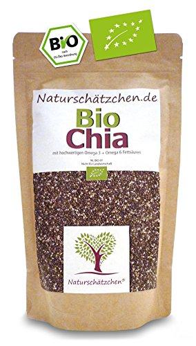 Bio Chia Samen in geprüfter Bio-Qualität...