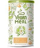 VEGAN MEAL | Green Vanilla | Der nährstoffdichte pflanzliche Mahlzeitersatz | Gemüse, Obst, Protein, Vitalpilze und Adaptogene | 800g veganes Pulver