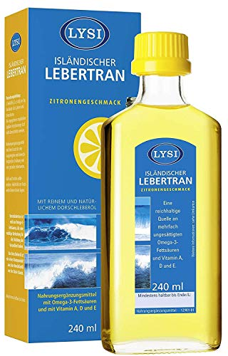 LYSI ISLÄNDISCHER LEBERTRAN mit den Vitaminen A,...