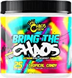 Chaos Crew Bring The Chaos Most Hardcore PreWorkout Booster Trainingsbooster Bodybuilding 372,5g ( Passionfruit Mango))