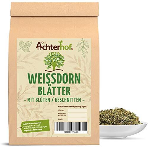 Weißdorn Tee | 1kg | Weißdornblätter mit...