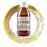Kolloidales Gold 20PPM Braunglasflasche 1000ml - hoch konzentriert (Reinheitsstufe 99,99%) Colloidal Gold (1000ml)