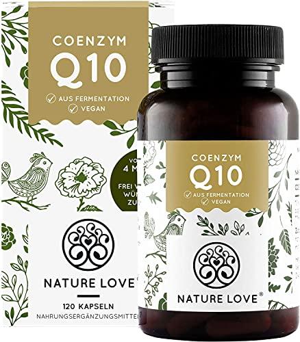 NATURE LOVE® Coenzym Q10 Hochdosiert - 200mg pro...