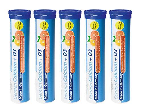 Calcium + Vitamin D3 Brausetabletten 5x20 Stk....