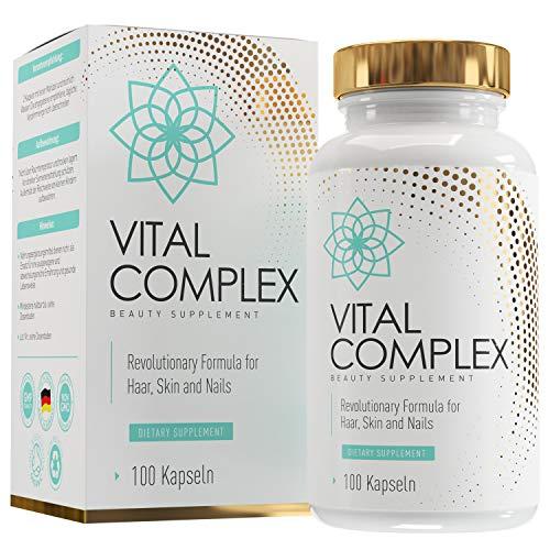 Haar-Vitamine - Hochdosiert mit Biotin, Selen,...