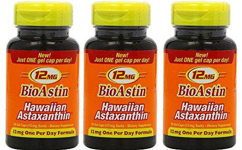 3 x BioAstin à 50 Kapseln 12 mg natürl....