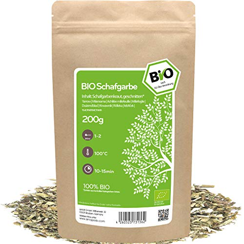 amapodo - Schafgarbe Tee Bio 200g -...