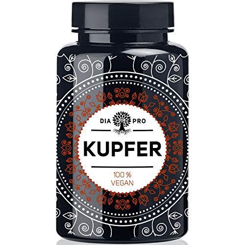 DiaPro® Kupfer 365 Hochdosierte Kupfer-Tabletten...