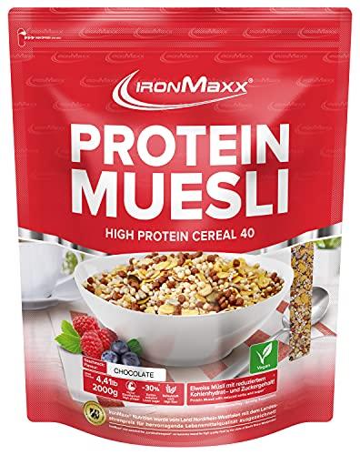 IronMaxx Protein Müsli Veganes Eiweißmüsli...