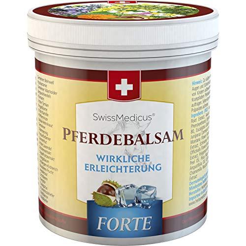SwissMedicus - Pferdebalsam kühlend extra stark -...