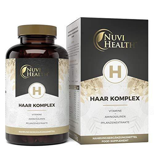 Haar Vitamine - Premium Komplex: Mit D-Biotin,...