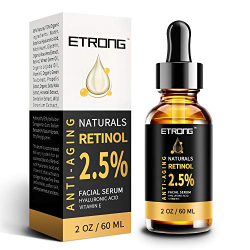 Retinol Serum, ETRONG hochfestes Anti-Aging Serum...