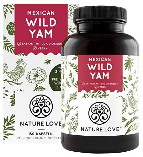 NATURE LOVE® Wild Yam Kapseln - Vergleichssieger...