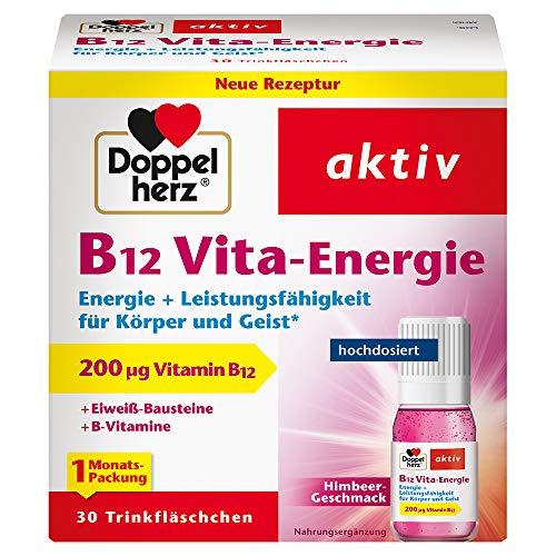 Doppelherz B12 Vita-Energie Trinkfläschchen –...