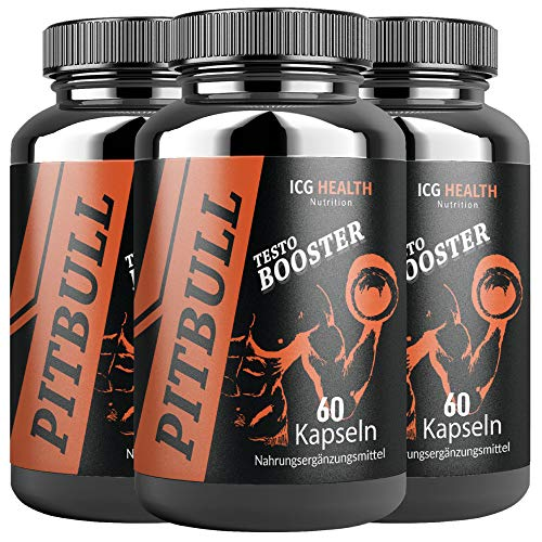 Pitbull Testo Booster – Pre Workout Booster...