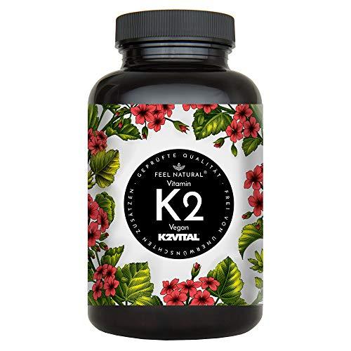 Vitamin K2 MK7-365 Kapseln. Hochdosiert mit 200µg...