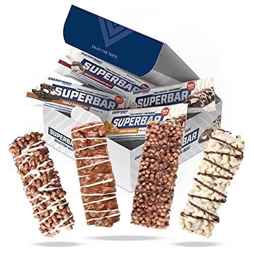 Energybody Superbar Mix Box 12 x 50 g zuckerarme...