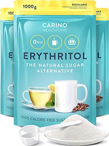 Erythrit Zuckeralternative kalorienfrei 3x 1.000g...