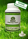 L- Carnitin 500mg - 120 Kapseln - Bio Protect - Fatburner OHNE ZUSATZSTOFFE