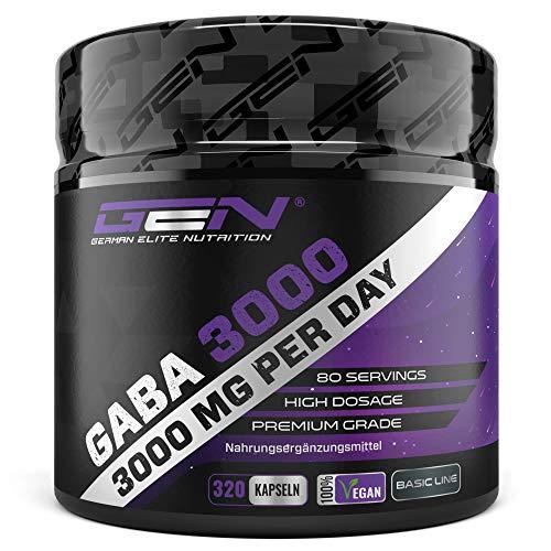 GABA 3000 - 320 Kapseln a 750 mg - Gamma...