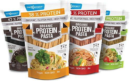 Maxsport Nutrition High Protein Pasta, Organic Bio...