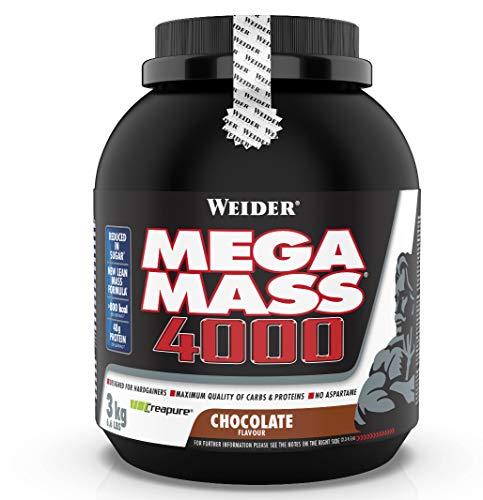 WEIDER Mega Mass 4000 Weight Gainer Shake zum...