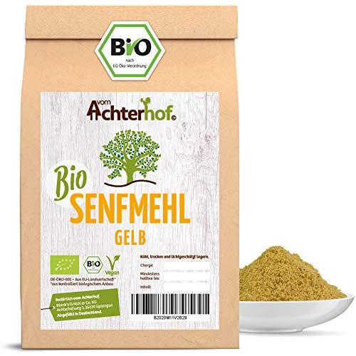 BIO Senfmehl (500g) Senfsaat gelb gemahlen ,...