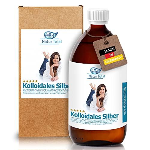 Kolloidales Silber 1000ml Hochrein mit 100ppm -...