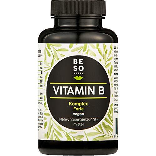 BeSoHappy® Vitamin B Komplex Forte | Mit 10 µg...