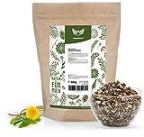 NaturaForte Löwenzahnwurzel-Tee geschnitten 500g - Löwenzahn-Tee lose, Arzneimittel-Qualität, Traditioneller Kräutertee, 100% Natürlich & ohne Zusätze, Getrocknet, Laborgeprüft