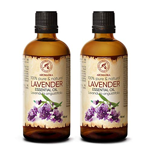 Lavendelöl 2x100ml - Bulgarien - 100% Rein &...