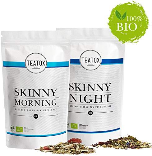 Teatox SKINNY Morning & SKINNY Night | Bio Grüner...