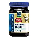 Manuka Health - Manuka Honig MGO 550+ (500 g) - 100% Pur aus Neuseeland mit zertifiziertem Methylglyoxal Gehalt