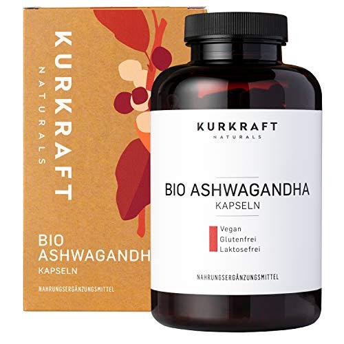 Kurkraft® Original Bio Ashwagandha (240 Kapseln...