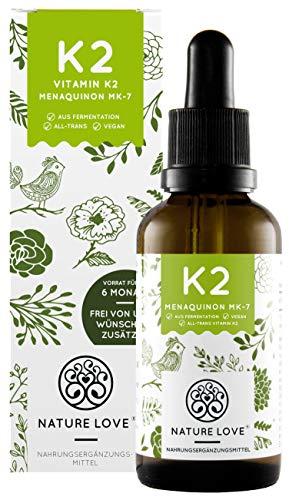 NATURE LOVE® Vitamin K2 MK-7-200µg (50ml...