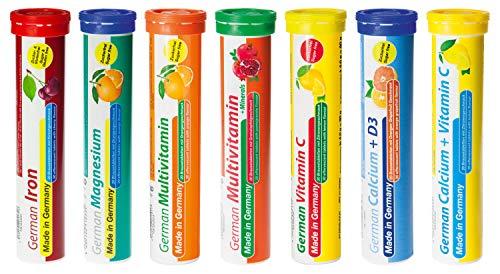 Brausetabletten Sortimentmix T&D Pharma - 7x20 =...