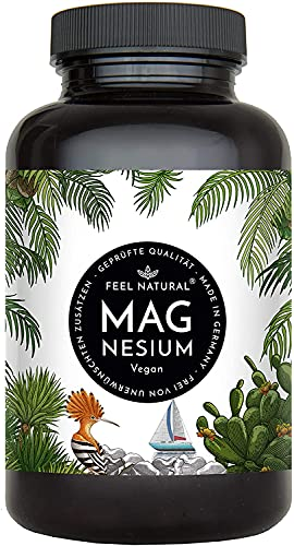 Magnesium Kapseln - 365 Stück (1 Jahr). 664mg je...